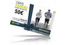 i-run.fr Carte Cadeau 50