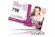 i-run.fr Carte Cadeau 75 Fête des Mères