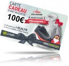 i-run.fr Carte Cadeau 100 Spéciale Noël - T