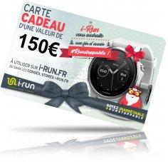 i-run.fr Carte Cadeau 150 Spéciale Noël - C