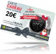 i-run.fr Carte Cadeau 20 Spéciale Noël