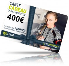i-run.fr Carte Cadeau 400 W