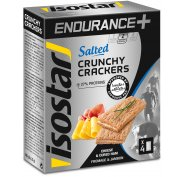 Isostar Crunchy Crackers Endurance+ - Jambon Fromage