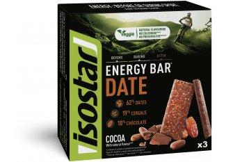 Isostar Pack barritas Essential Bar - Cacao