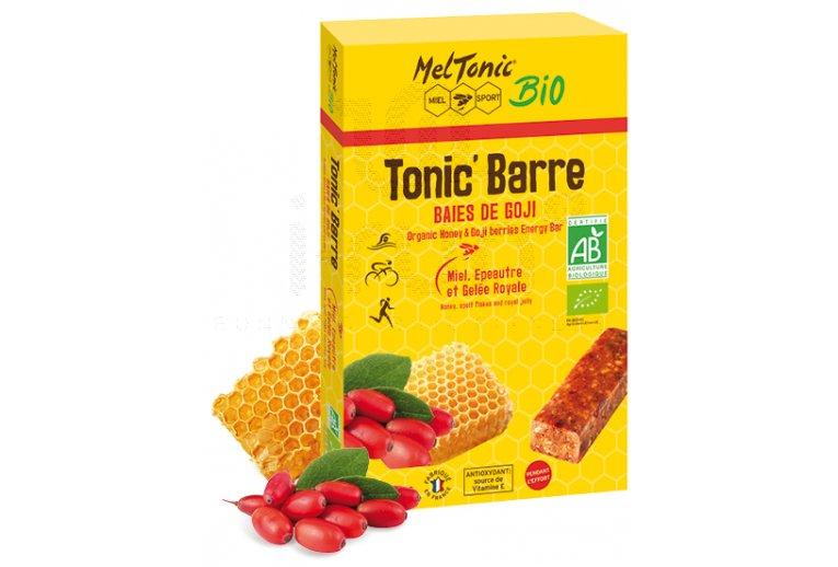MelTonic Caja de barritas energéticas Tonic'Barre  Bio - Baya de goji y miel