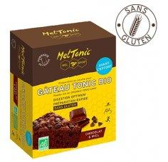 MelTonic Gâteau Tonic Bio - Chocolat Miel