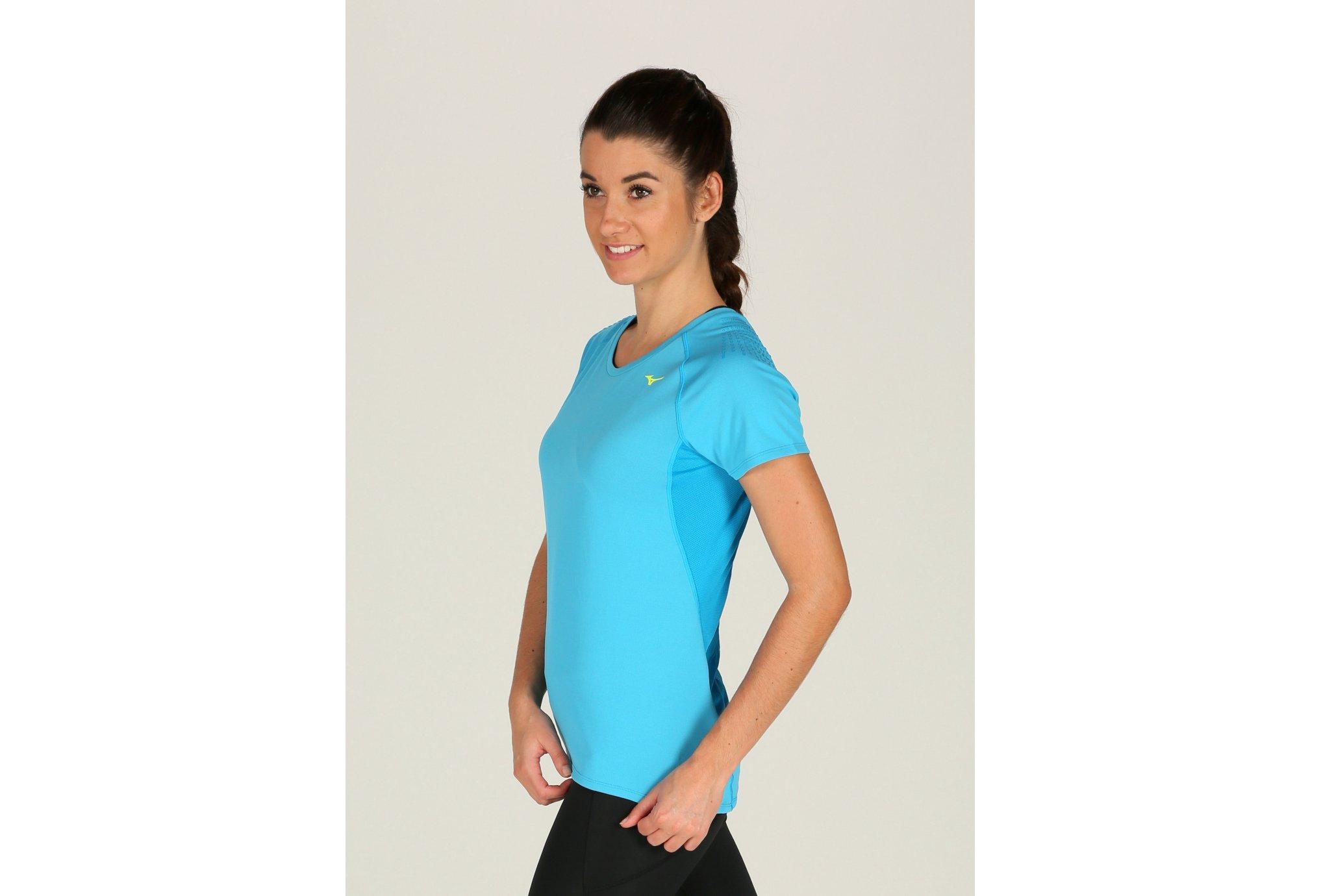 Mizuno Tee-Shirt Kazan W vêtement running femme