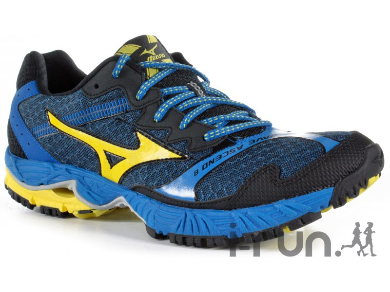 mizuno wave ascend 8 m pas cher chaussures homme running trail en promo. Black Bedroom Furniture Sets. Home Design Ideas