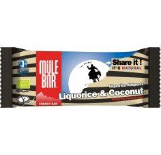 Mulebar Barre Energétique Liquorice Allsports - Réglisse/Noix de coco
