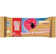 Mulebar Barre Energétique Peanut Punch - Cacahuète/Framboise
