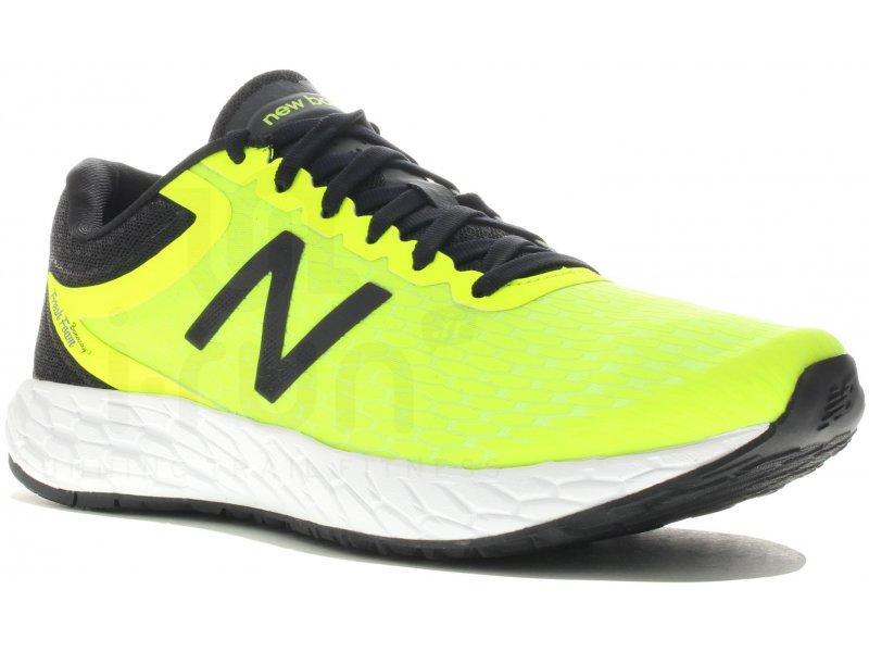 new balance running jaune fluo