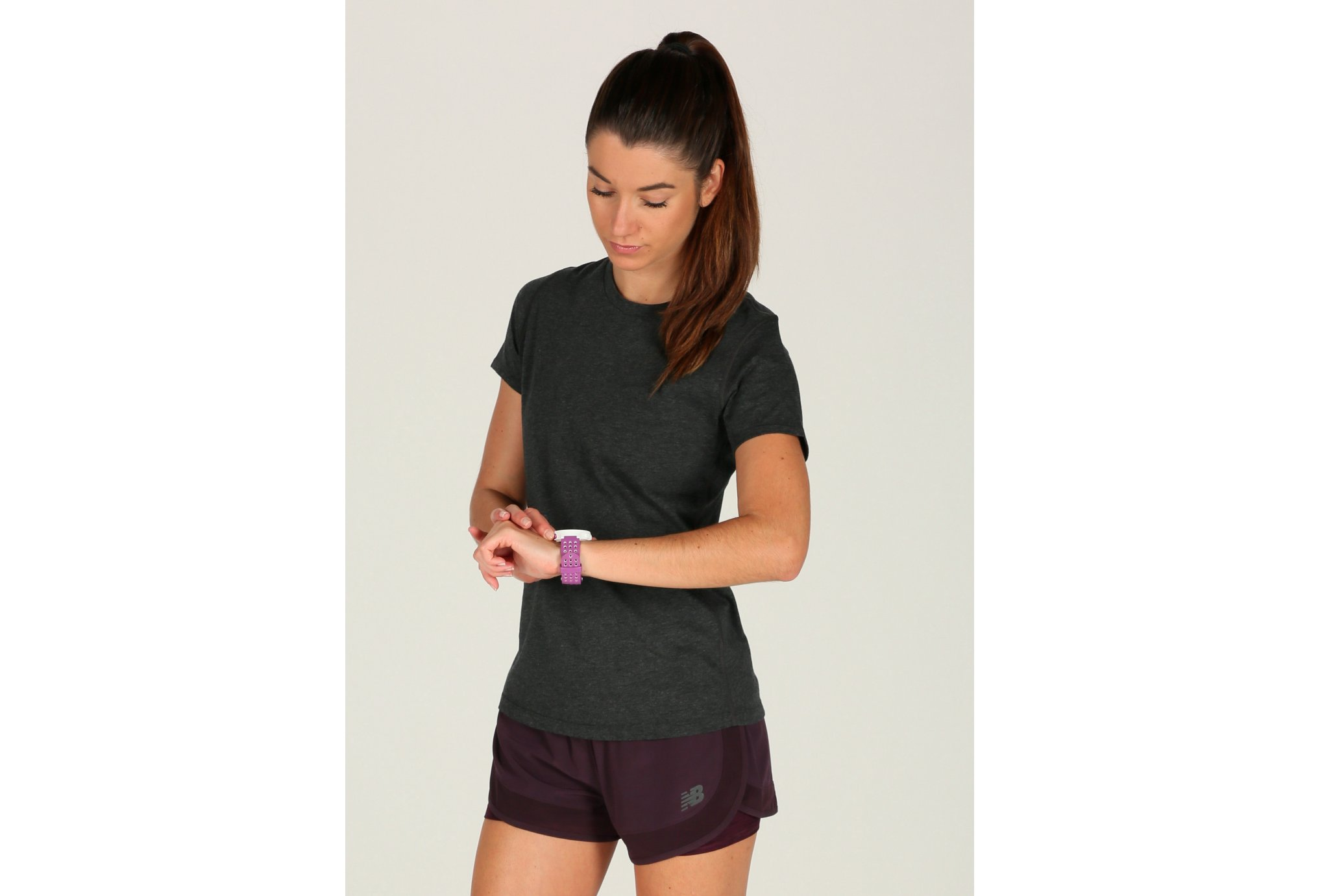 New Balance Heather Tech W vêtement running femme