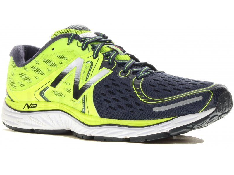 chaussures running homme m 1080 v4 green/silver