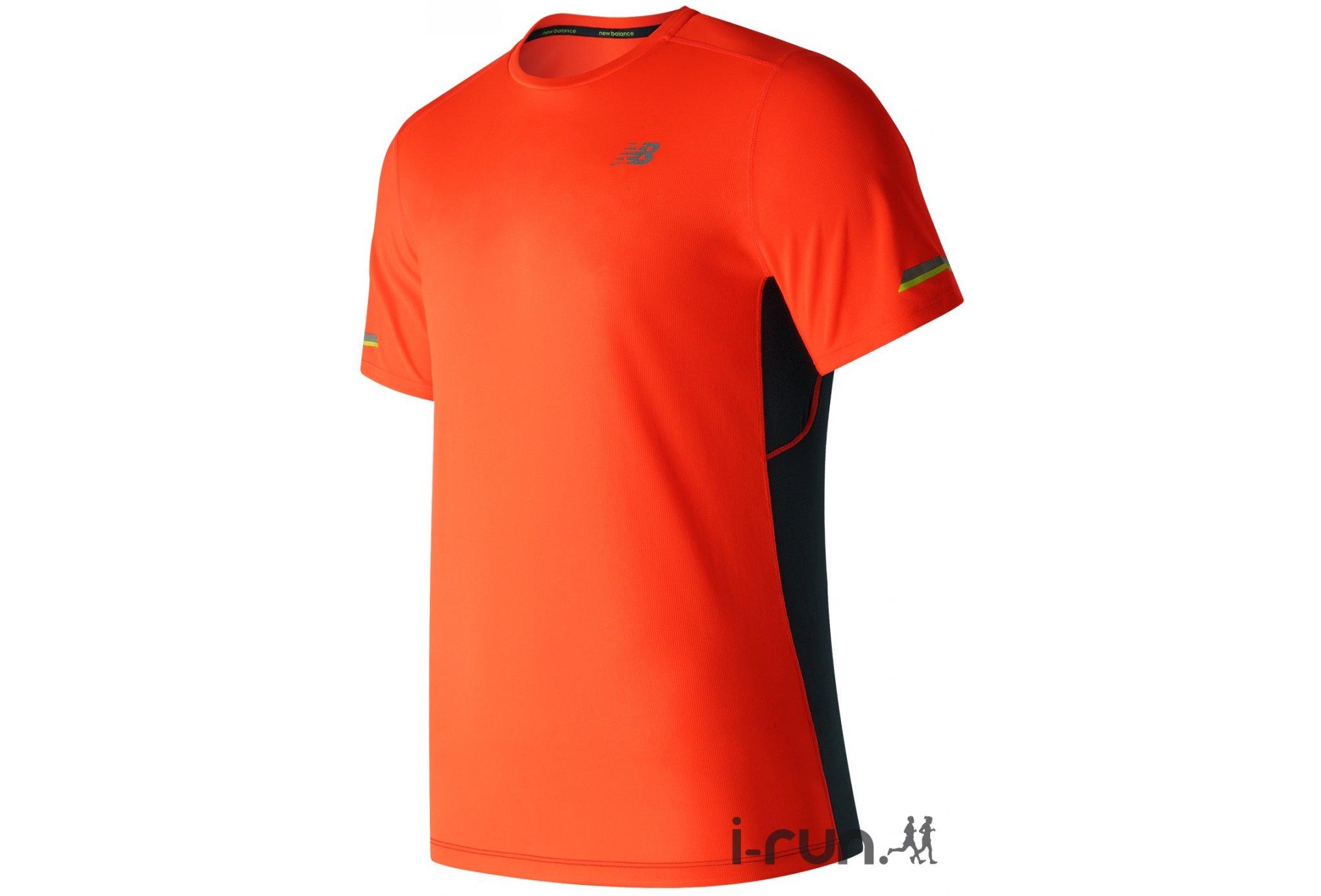 New Balance Tee-shirt Ice M vêtement running homme