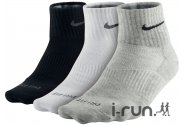 Nike - 3 paires Dri-Fit Coton Lightweight