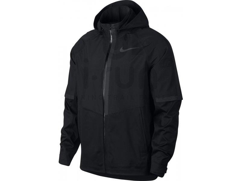 Homme Nike Tech Fleece Parka Black Black Bonne Vente Manteaux