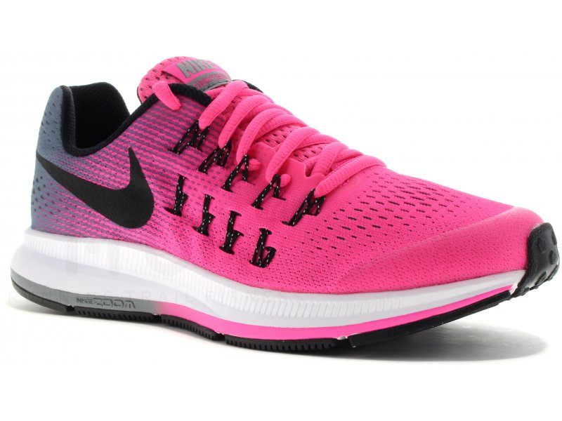 nike air zoom pegasus 33 gs pas cher chaussures running femme running junior running en promo. Black Bedroom Furniture Sets. Home Design Ideas