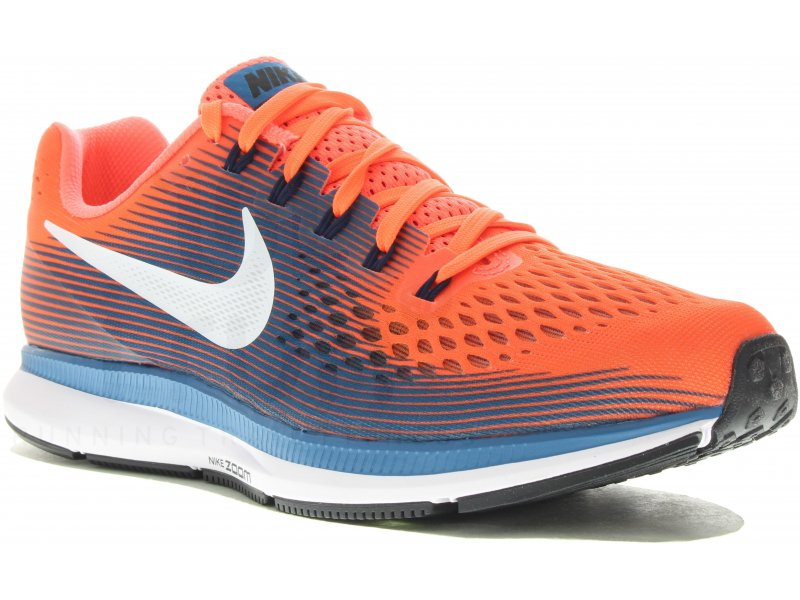 nike air zoom pegasus 34 m pas cher chaussures homme running route chemin en promo. Black Bedroom Furniture Sets. Home Design Ideas
