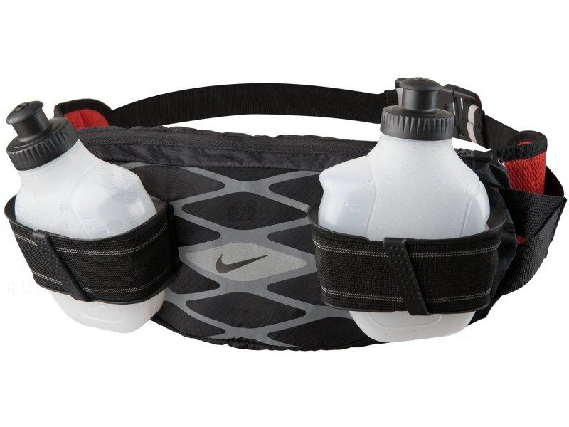 Nike ceinture porte bidons storm pas cher accessoires running sac hydratation gourde en promo - Ceinture porte gourde running ...