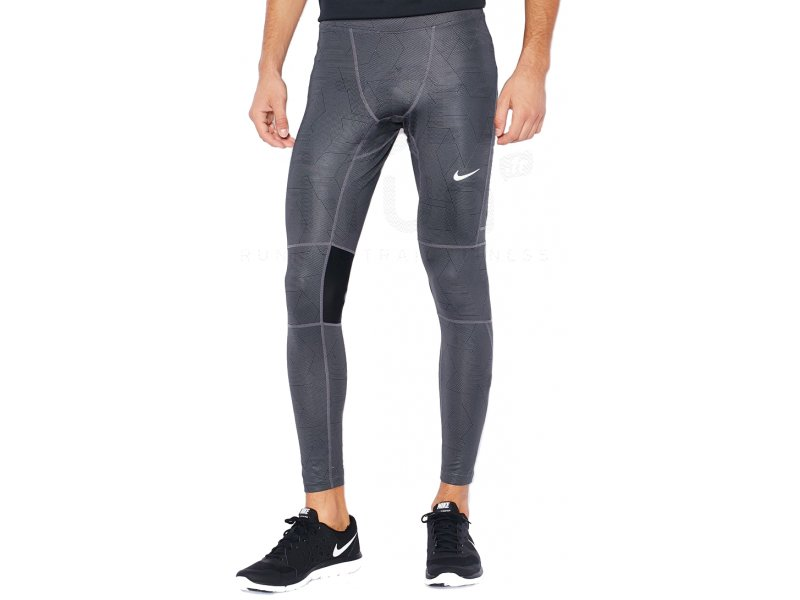 nike collant dri fit essential printed m pas cher v tements homme running collants pantalons. Black Bedroom Furniture Sets. Home Design Ideas
