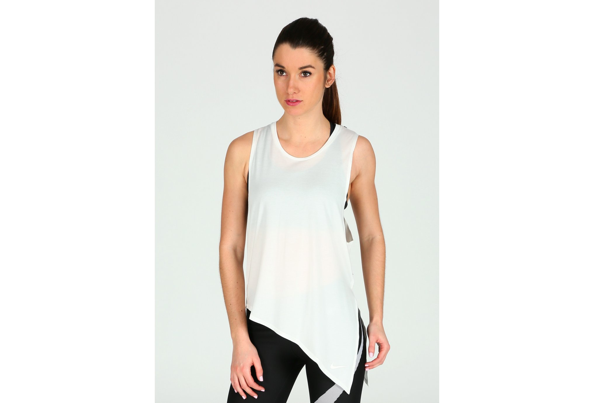 Nike Débardeur Elevated Side Tie W vêtement running femme