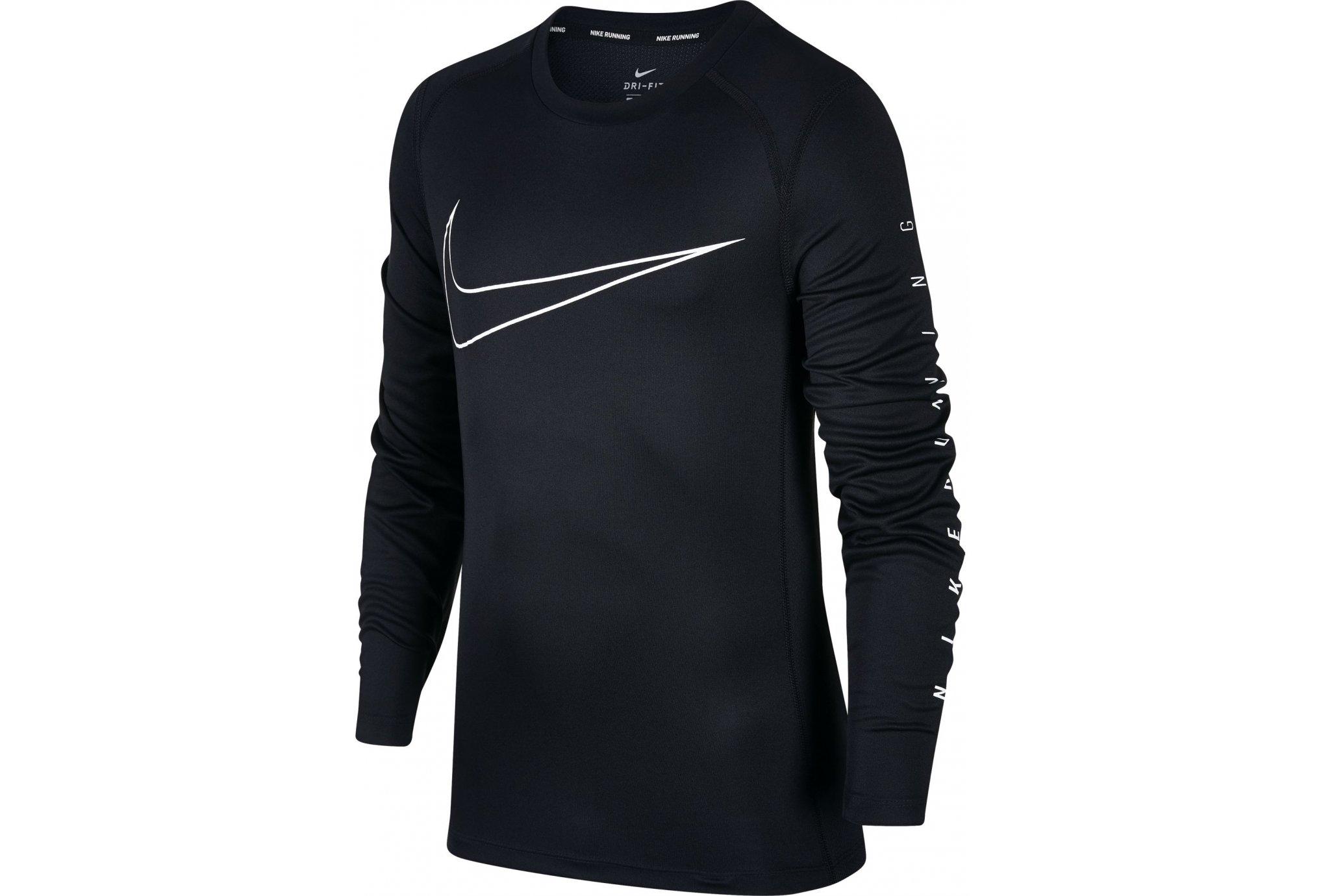 Nike Dry miler garçon vêtement running homme
