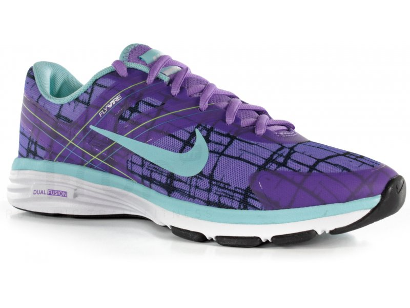 the latest b3c7c 1acd3 ... Nike Dual Fusion TR 4 Print W Chaussures running femme ...