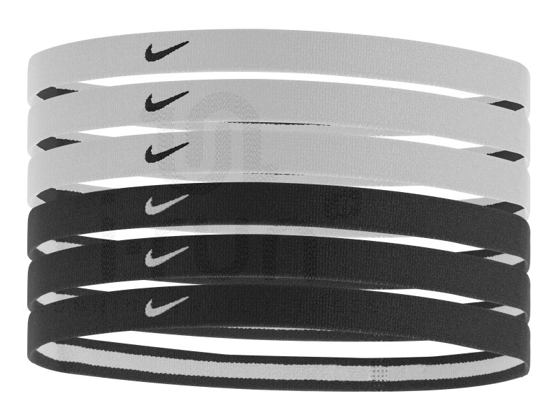 nike elastiques hairbands x6 accessoires running casquettes bandeaux nike elastiques. Black Bedroom Furniture Sets. Home Design Ideas