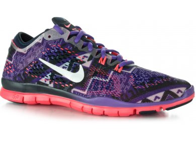 chaussures nike free 5.0 tr fit 4 print femme