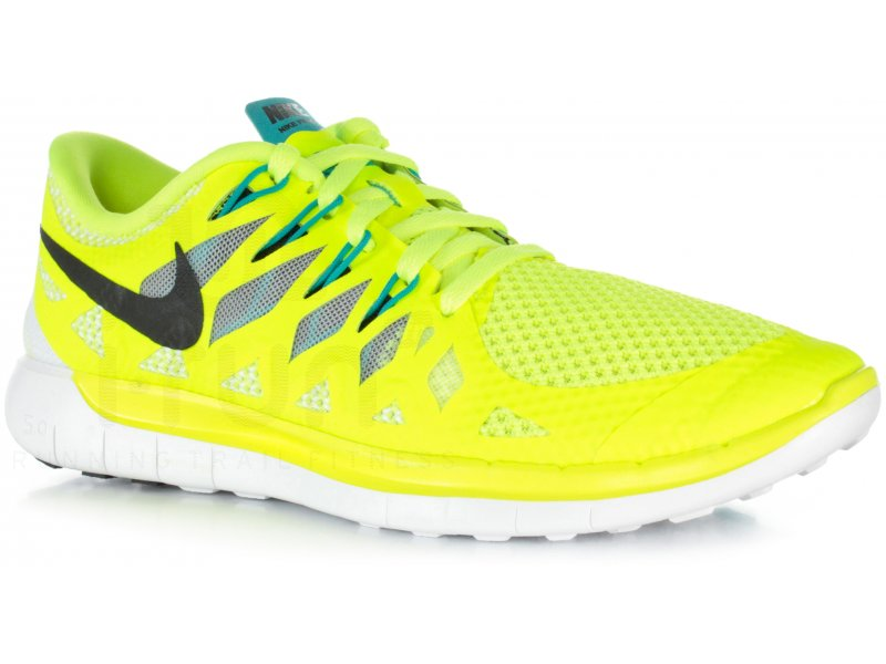 newest a31f8 5a9e7 chaussures running nike free 5.0 femme jaune