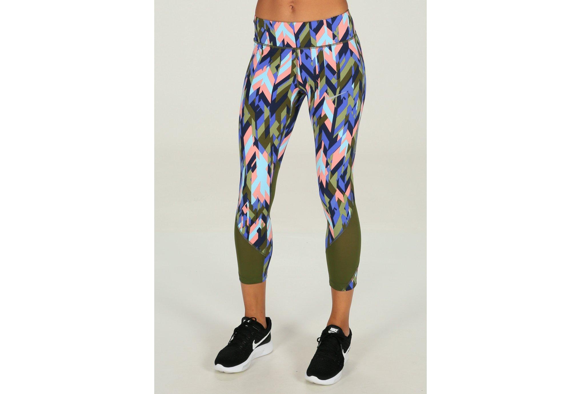 Nike Power Epic Lux Crop Print W vêtement running femme