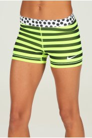 Nike Pro Cuissard court Stripes and Dots 7.5cm W