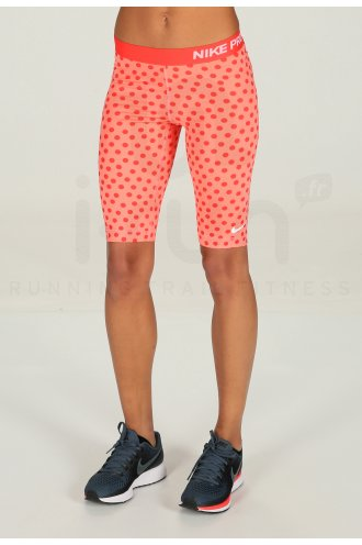 Nike Pro Cuissard Long Small Dot 11 W