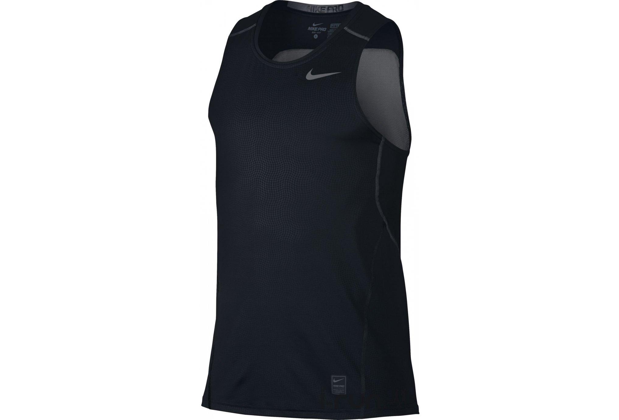 Nike Pro Débardeur Hypercool Fitted M vêtement running homme e2363e55f61e