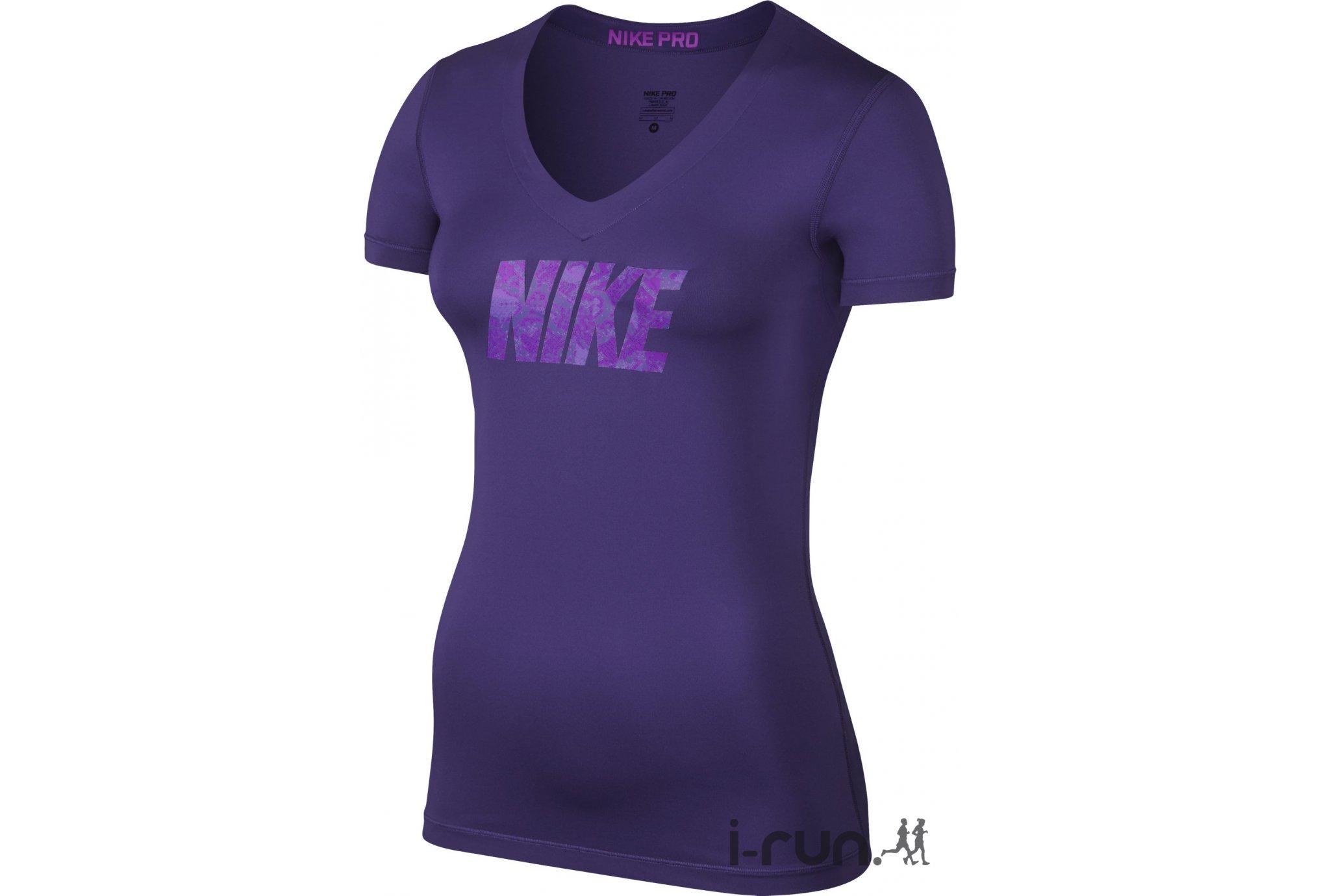 Nike pro tee shirt logo w pas cher destockage nike running pro tee shirt lo - Destockage fitness avis ...