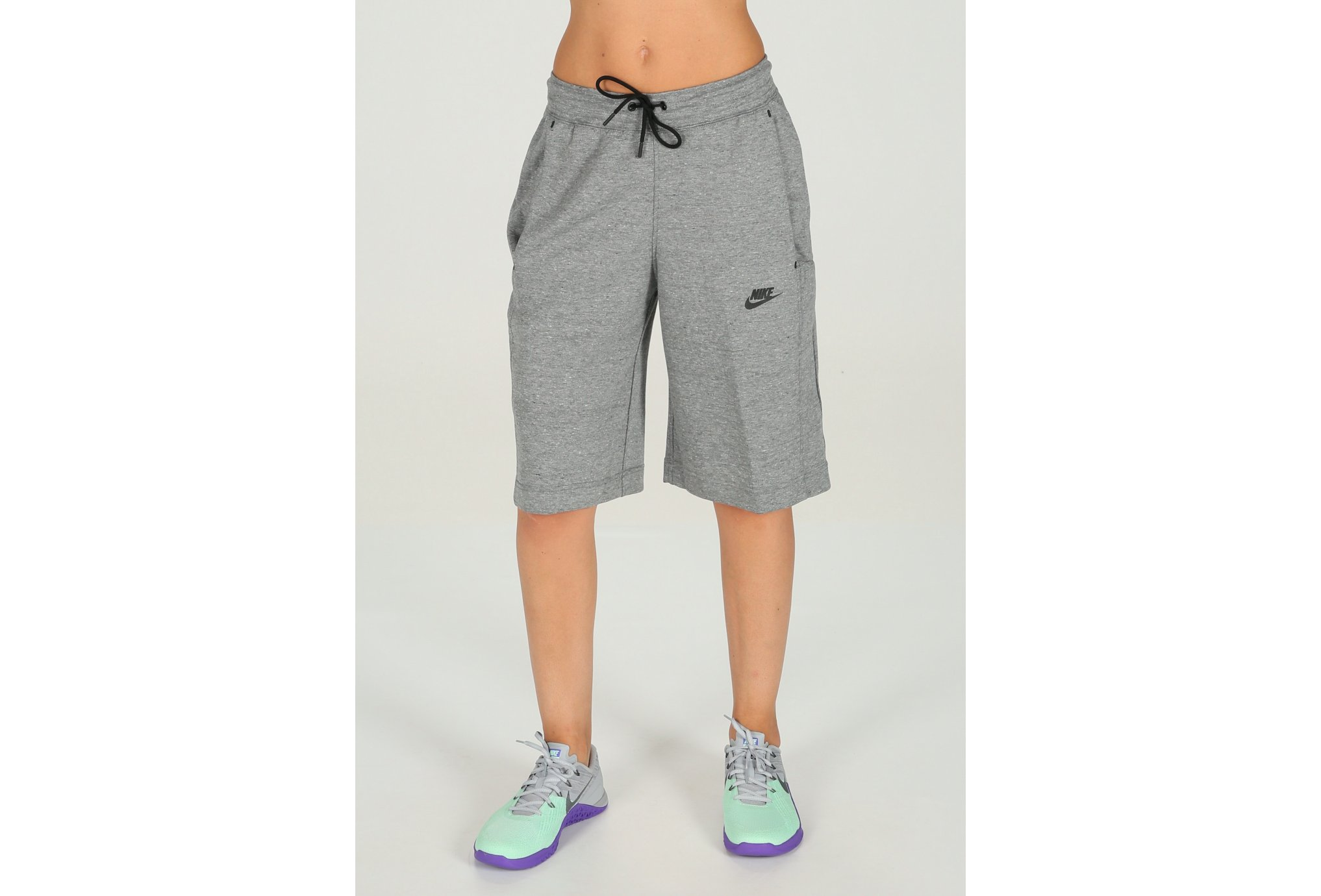 Nike Short tech fleece w vêtement running femme