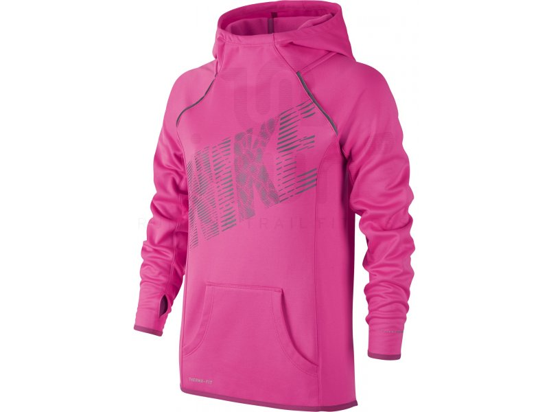 nike sweat epic flash over the head fleece fille pas cher v tements femme running junior en promo. Black Bedroom Furniture Sets. Home Design Ideas