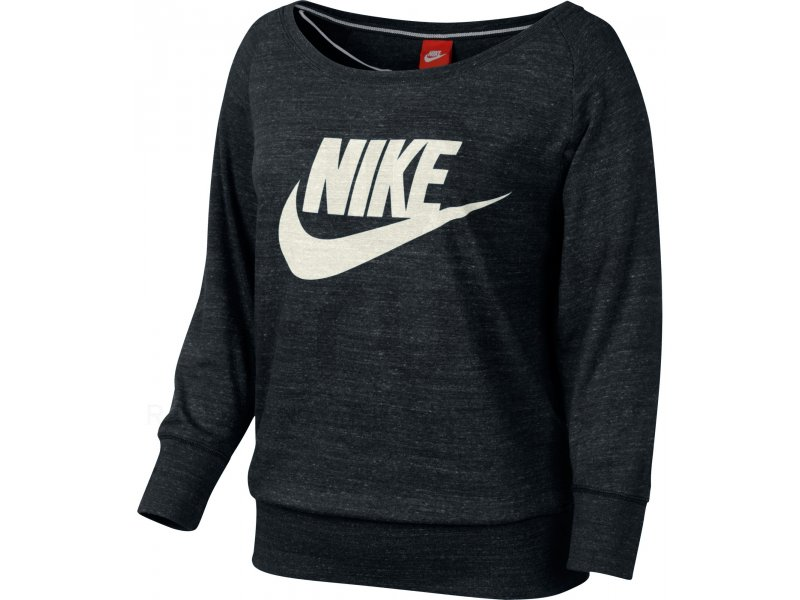 nike sweat gym vintage crew w v tements femme running. Black Bedroom Furniture Sets. Home Design Ideas