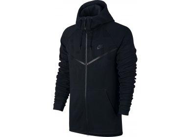 971261174f40 Nike Tech Fleece Full Zip Windrunner Jacket Men u0027s nike tech fleece  noir et blanc