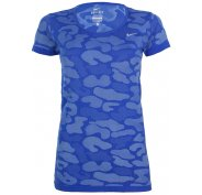 Nike Tee-shirt Dri-Fit Knit Contrast W