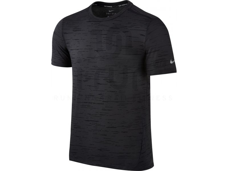 nike tee shirt dry tailwind m v tements homme running manches courtes nike tee shirt dry. Black Bedroom Furniture Sets. Home Design Ideas