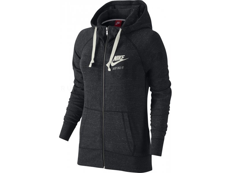 nike veste gym vintage w v tements femme running sportswear nike veste gym vintage w. Black Bedroom Furniture Sets. Home Design Ideas