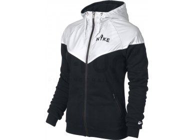 nike veste polaire ru overlay fleece w pas cher v tements femme running fitness training en promo. Black Bedroom Furniture Sets. Home Design Ideas