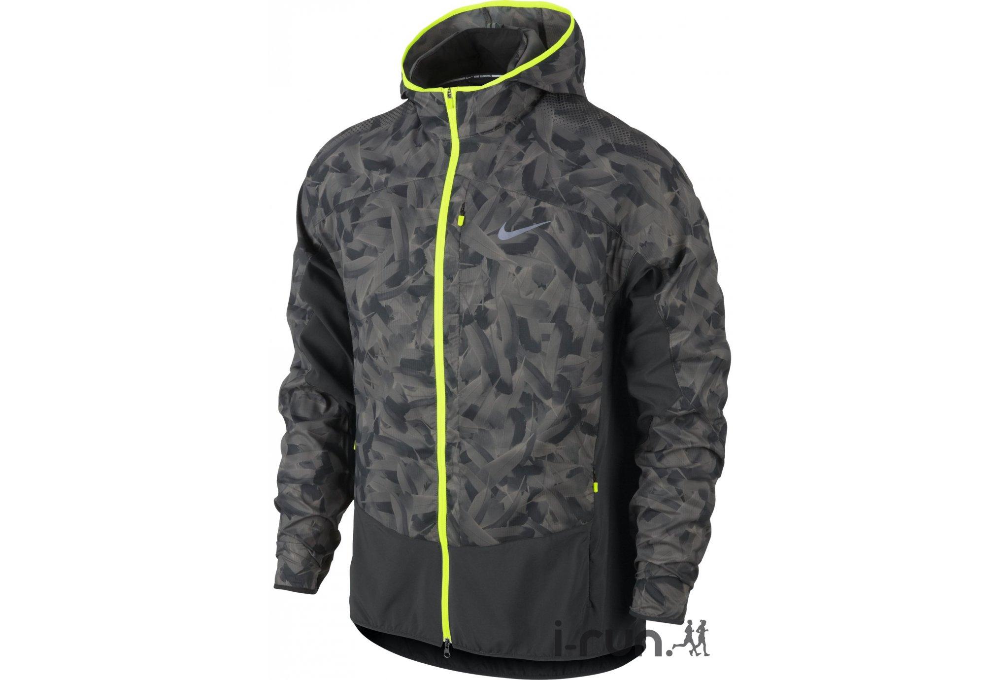 Nike Veste Printed Trail Kiger Packable M v�tement running homme