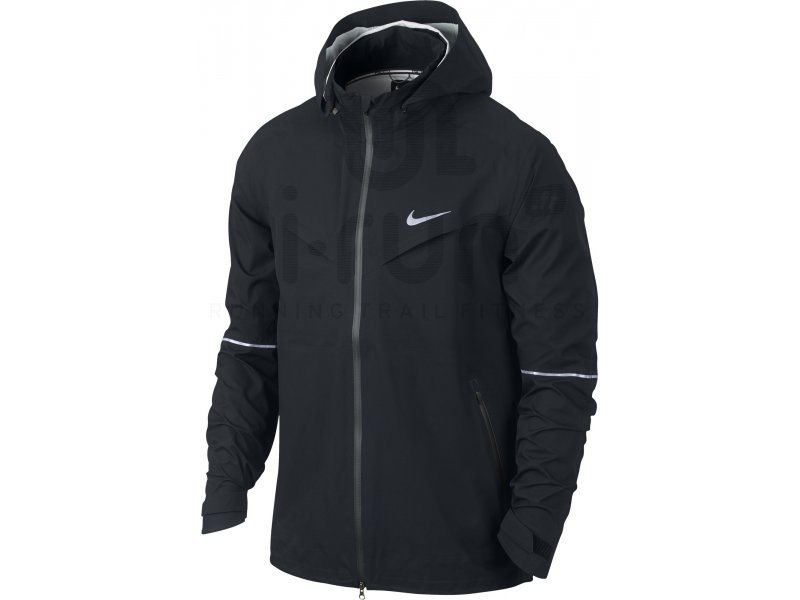 nike veste rain runner m pas cher destockage running v tements homme en promo. Black Bedroom Furniture Sets. Home Design Ideas