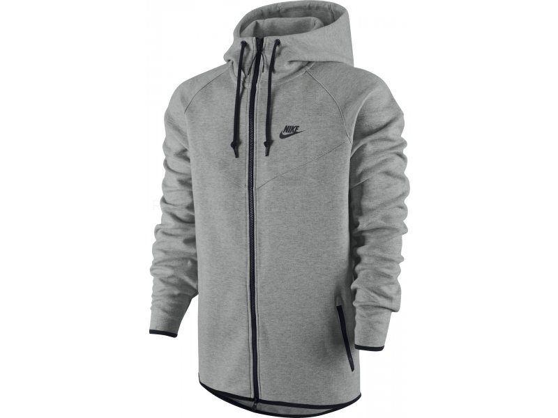 nike veste tech fleece windrunner m pas cher destockage running v tements homme en promo. Black Bedroom Furniture Sets. Home Design Ideas