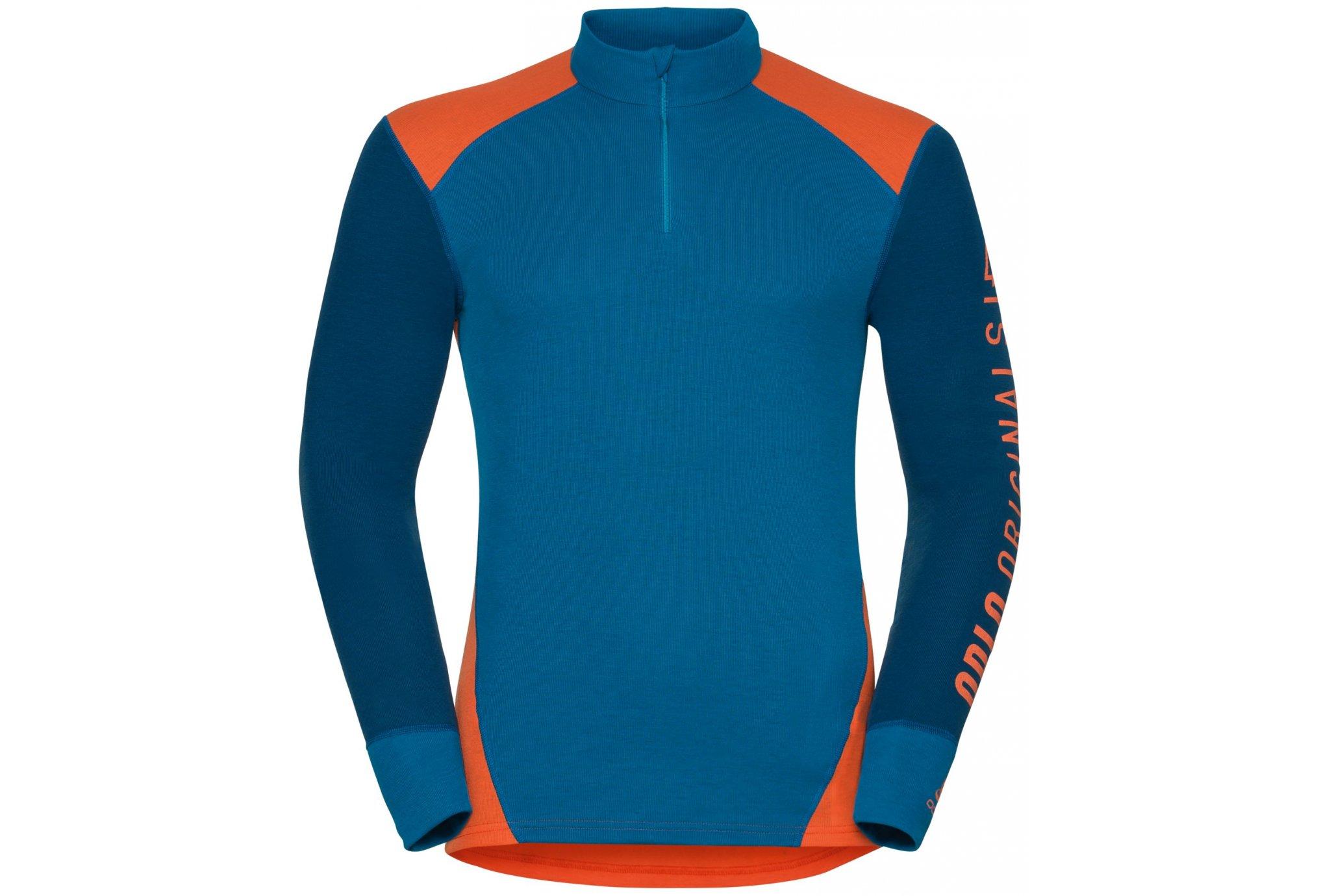 Odlo Warm Revelstoke 1/2 Zip M vêtement running homme