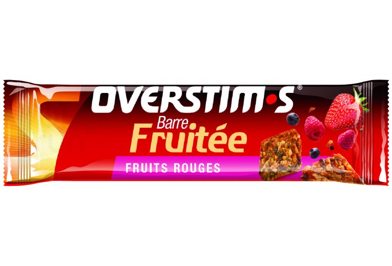 OVERSTIMS Barre Fruitée - Fruits rouges