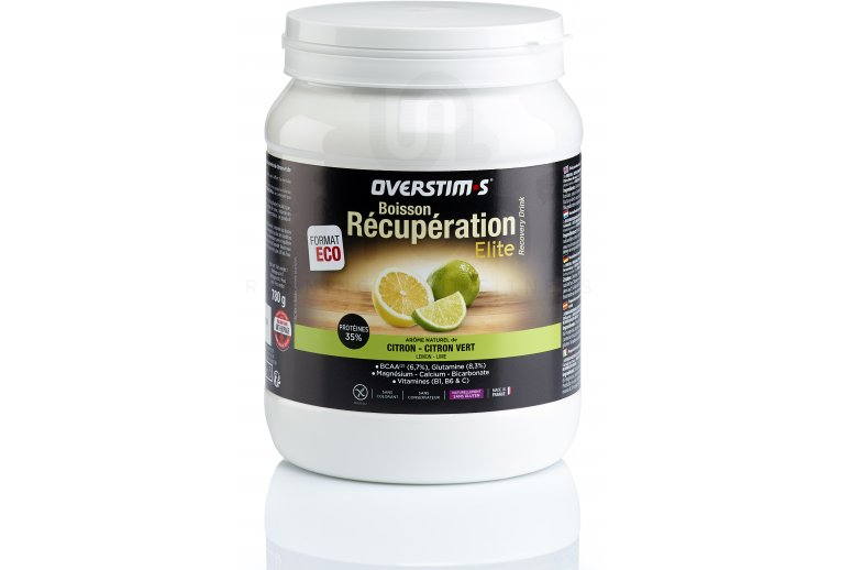 OVERSTIMS Boisson Récupération Élite 780g - Citron/citron vert