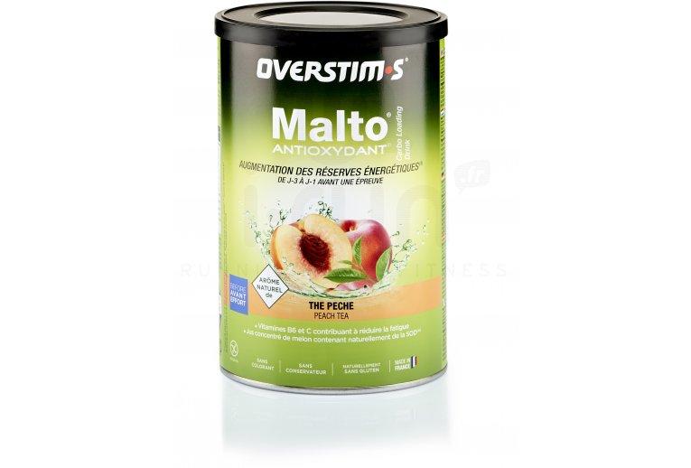 OVERSTIMS Malto Antioxydant 500 g - Thé pêche